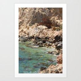 Naturista Ibiza Spain Art Print