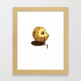 Life in a Nutshell Framed Art Print