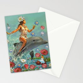Freedom Lies in being Bold Stationery Cards