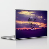 dale cooper Laptop & iPad Skins featuring Dale by KimberosePhotography