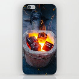 controlled burn iPhone Skin