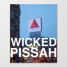 Wicked Pissah - Boston Photo Canvas Print