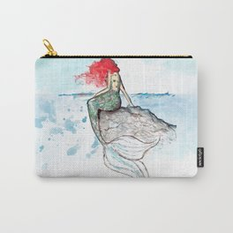 Mermaid - watercolor version Carry-All Pouch