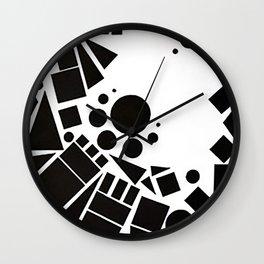 temples of flight II Wall Clock