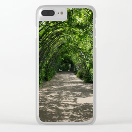 secret garden Clear iPhone Case