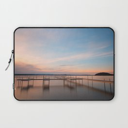 Saratoga Lake Sunset Laptop Sleeve