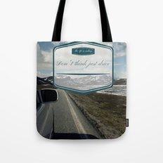 Roadtrip in norway Tote Bag