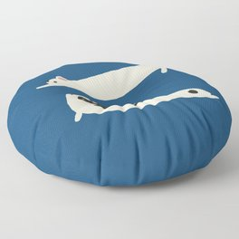 Stretching French Bulldog Floor Pillow