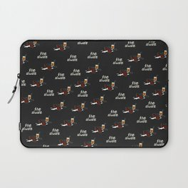 Dude The Dude blk Laptop Sleeve