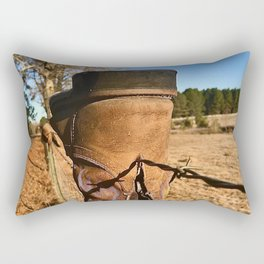 Texas Boots Rectangular Pillow