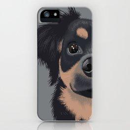 Mila the Carlin Pinscher iPhone Case