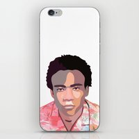 childish gambino iPhone & iPod Skins featuring Childish by Grace Teaney Art