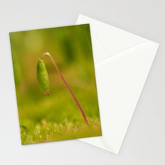 Moss germ, Alone in a green Land Stationery Cards