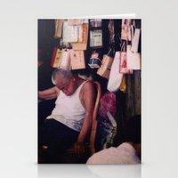 hong kong Stationery Cards featuring Hong Kong by KunstFabrik_StaticMovement Manu Jobst