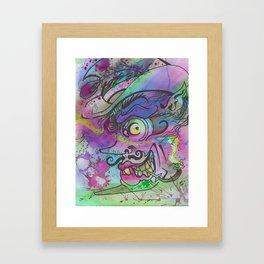 Pimp Framed Art Print