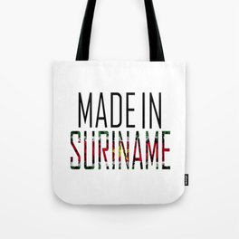 Made In Suriname Tote Bag