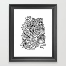 It's complicated... Framed Art Print