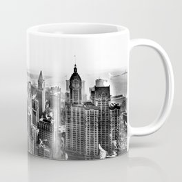 New York South from Woolworth Building 1913 Coffee Mug
