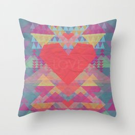 Love Me Lots Throw Pillow