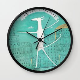 To Be In Balance Wall Clock