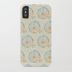 Vintage Bicycle iPhone X Slim Case