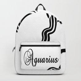 Aquarius Zodiac Water Bearer Backpack