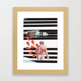 Space Cop Framed Art Print