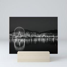 The Heart of Salerno 02 B&W Mini Art Print