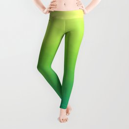 Painterly Gradient - Spring Forest Variant Leggings