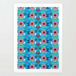 Blomma Art Print