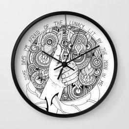 Lunacy Wall Clock