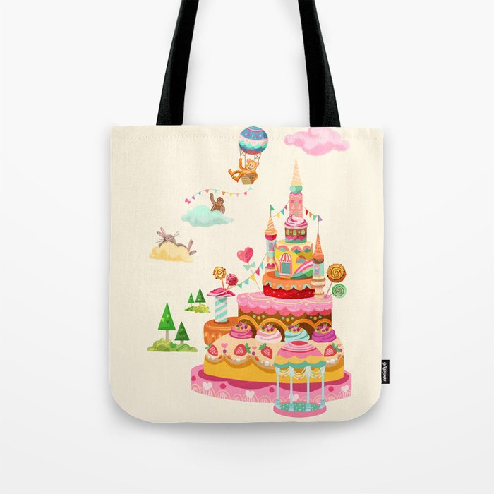 Ice Cream Castles In The Air Tote Bag