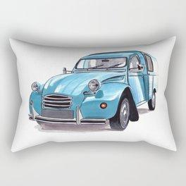 2CV Fourgonnette Rectangular Pillow