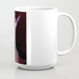 Diamonds on red velvet Coffee Mug