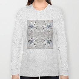 Daisy Jewelry Grid White Long Sleeve T-shirt