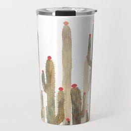 Autumn Cactus 4 Travel Mug