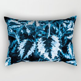 Flora exotica - midnight Rectangular Pillow