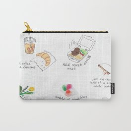 A Collection of Excellent NYC Snacks Carry-All Pouch