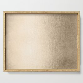 White Gold Sands Serving Tray