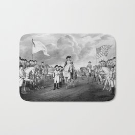 Surrender Of Lord Cornwallis At Yorktown Bath Mat