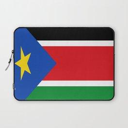 Flag of south sudan Laptop Sleeve