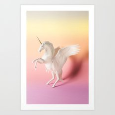 UNICORN C Art Print
