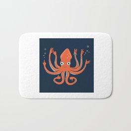 Octopus Signals Bath Mat