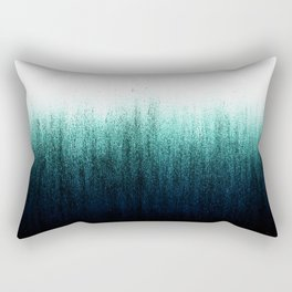 Teal Ombré Rectangular Pillow