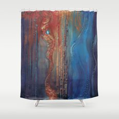 Omniscient  Shower Curtain