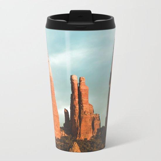 Desert Vortex Metal Travel Mug