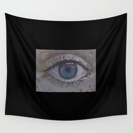 Eye 1# Rose Wall Tapestry