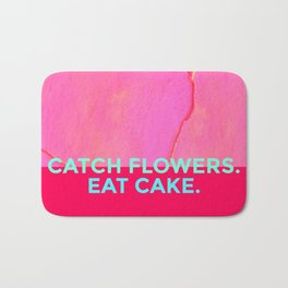 Catch Flowers, Eat Cake! Bath Mat