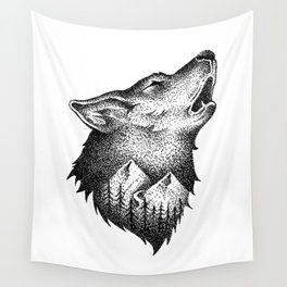 HOWLING Wall Tapestry