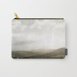 Travel photography | Tuscany | Mountain view | Golden Hour | Colorful Carry-All Pouch